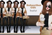 Breakfast Pose With Coffee and Donut Box Subscriber Gift by Label Motion - Teleport Hub - teleporthub.com