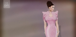 Queen Gown Pink Group Gift by PurpleMoon - Teleport Hub - teleporthub.com