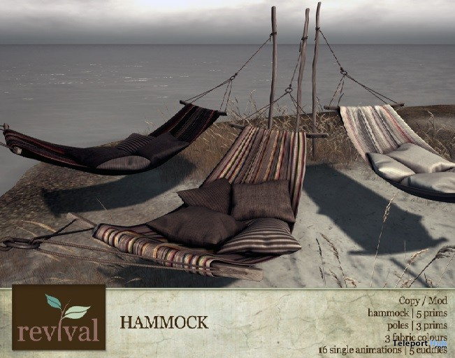 Hammock 24 Hour Group Gift by revival - Teleport Hub - teleporthub.com