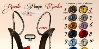 Rosalie Pumps Gacha Group Gift by Pure Poison - Teleport Hub - teleporthub.com