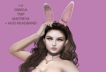Bunny Body Suit and Head Band 1L Promo Gift by Blossom - Teleport Hub - teleporthub.com