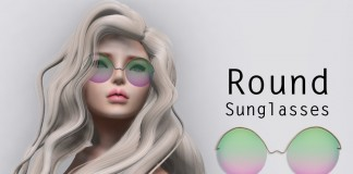 Round Sunglasses 1L Promo Gift by Delicious Boutique - Teleport Hub - teleporthub.com