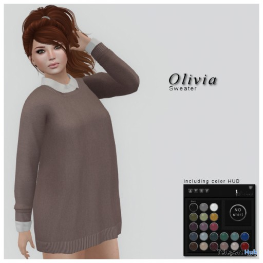 Olivia Sweater Blush Group Gift by WICKED - Teleport Hub - teleporthub.com