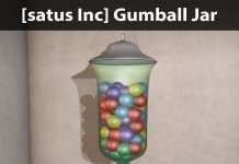 New Release: Gumball Jar by [satus Inc] - Teleport Hub - teleporthub.com