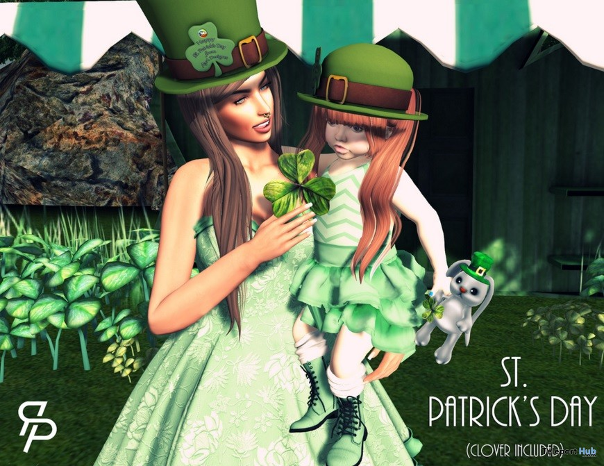 St.Patrick Day Pose Group Gift by Reel Poses - Teleport Hub - teleporthub.com