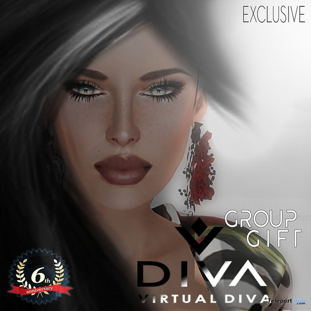 Skin for Classic Body 6th Anniversary Group Gift by Virtual Diva - Teleport Hub - teleporthub.com