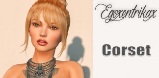 Corset With Mesh Body Appliers Group Gift by Egoxentrikax - Teleport Hub - teleporthub.com