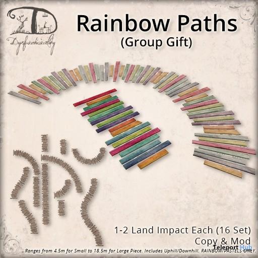 Rainbow Path Group Gift by Dysfunctionality - Teleport Hub - teleporthub.com
