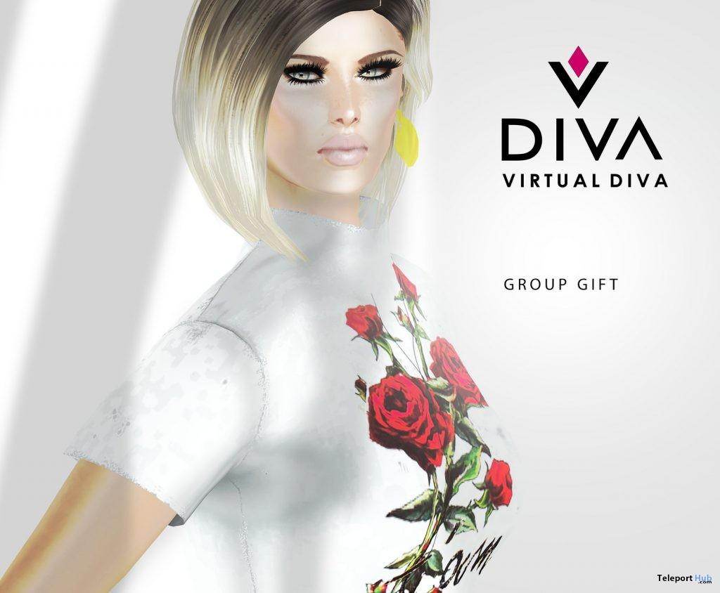April Skin Group Gift by Virtual Diva - Teleport Hub - teleporthub.com