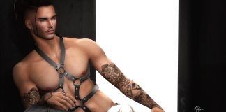 Body Harness L'Homme Magazine Group Gift by Gabriel - Teleport Hub - teleporthub.com