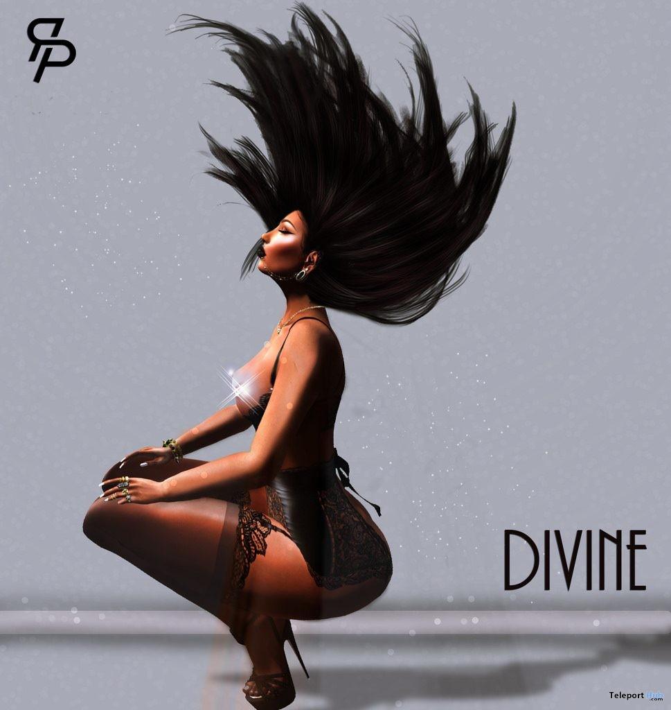 Divine Single Female Pose Group Gift by Reel Poses - Teleport Hub - teleporthub.com