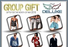 Outfits for Men and Women May 2016 Group Gifts by Angel DELUXE - Teleport Hub - teleporthub.com