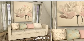 Sofa June 2016 Group Gift by Ariskea - Teleport Hub - teleporthub.com