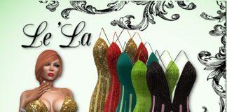 Diana Dress 6 Textures Pack 99L Promo by Le'La Store - Teleport Hub - teleporthub.com