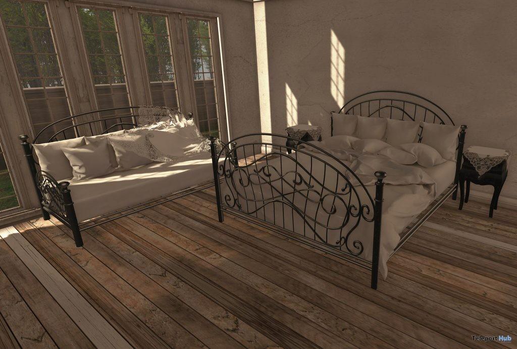 New Release: Nikoletta Bedroom Set by zerkalo - Teleport Hub - teleporthub.com