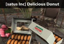 New Release: Delicious Donut by [satus Inc] - Teleport Hub - teleporthub.com