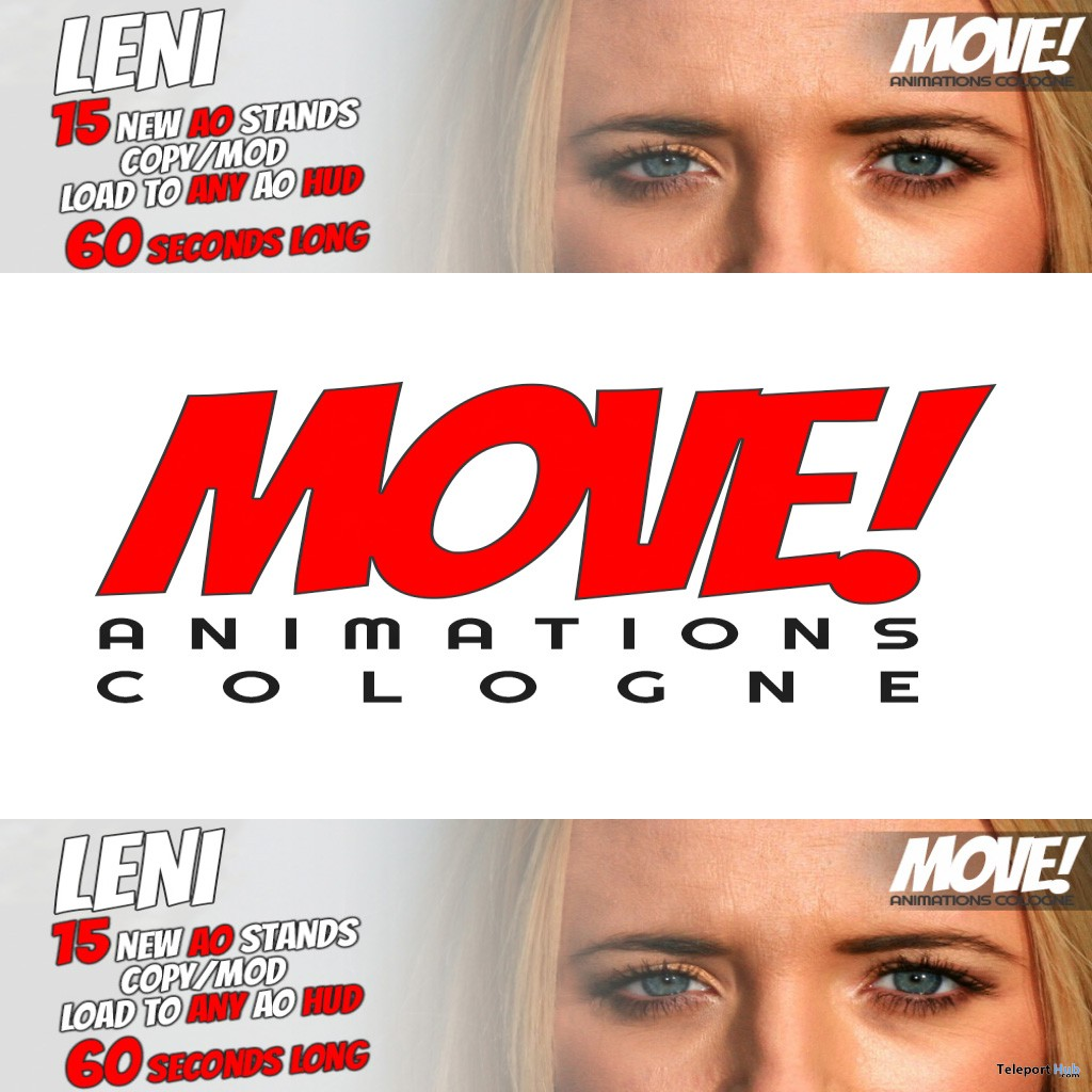 New Release: LENI Stands AO by MOVE! Animations Cologne - Teleport Hub - teleporthub.com