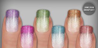 Sparkle & Shine Nails Applier June 2016 Group Gift by LIVIA - Teleport Hub - teleporthub.com