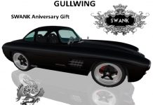 Gullwing Mercedes Model Car SWANK Aniversary 1L Promo Gift by Drack Motor - Teleport Hub - teleporthub.com