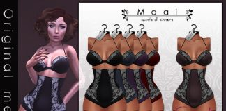 Angelica Lingerie Sugar Group Gift by MAAI - Teleport Hub - teleporthub.com
