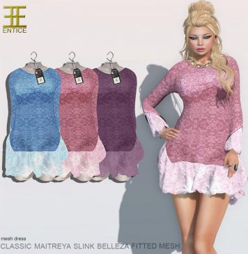Time For Mercy Dress Group Gift by ENTICE - Teleport Hub - teleporthub.com