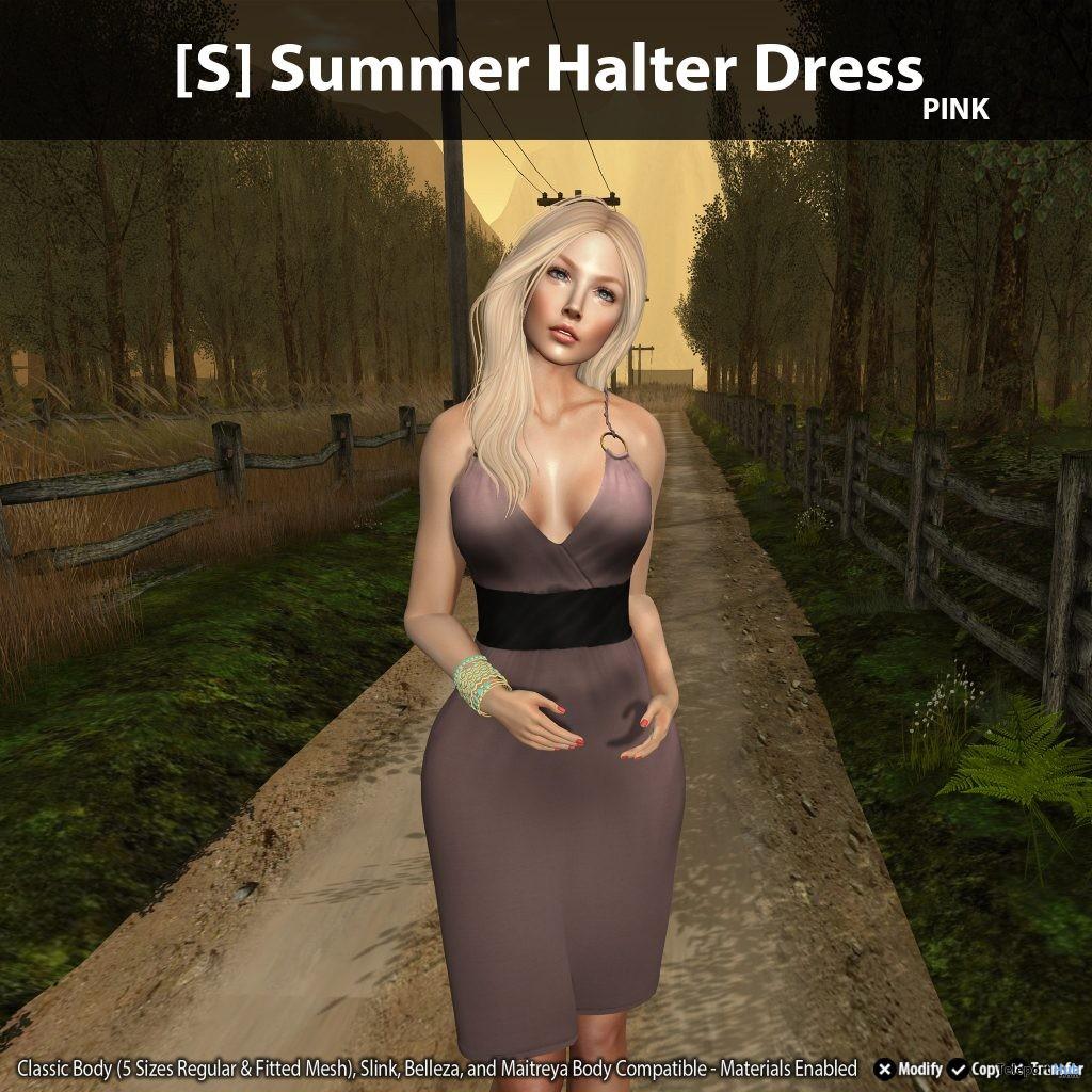 New Release: [S] Summer Halter Dress by [satus Inc] - Teleport Hub - teleporthub.com