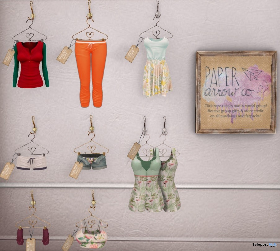 Dresses, Shorts, and Pants Group Gifts by paper arrow co - Teleport Hub - teleporthub.com