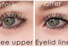 Upper Eyelid Liner Gift by DeeTaleZ - Teleport Hub - teleporthub.com