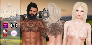 Keria Body Tattoo August 2016 Group Gift by AS - Teleport Hub - teleporthub.com