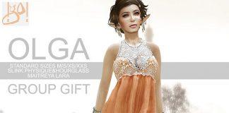 Olga Dress Group Gift by !gO! - Teleport Hub - teleporthub.com