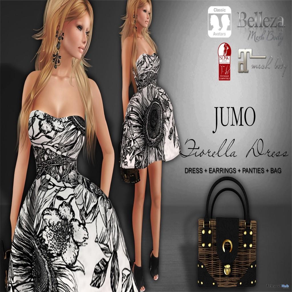 Fiorella Dress MIMI's Choice Group Gift by JUMO - Teleport Hub - teleporthub.com