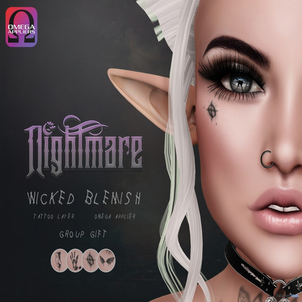 Wicked Blemish Face Tattoo Group Gift by nightmare - Teleport Hub - teleporthub.com