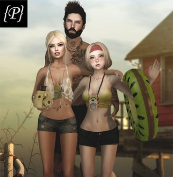 Friends Pose Gift by Peaches - Teleport Hub - teleporthub.com