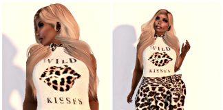 Wild Kisses Dress August 2016 Group Gift by Sevyn East - Teleport Hub - teleporthub.com
