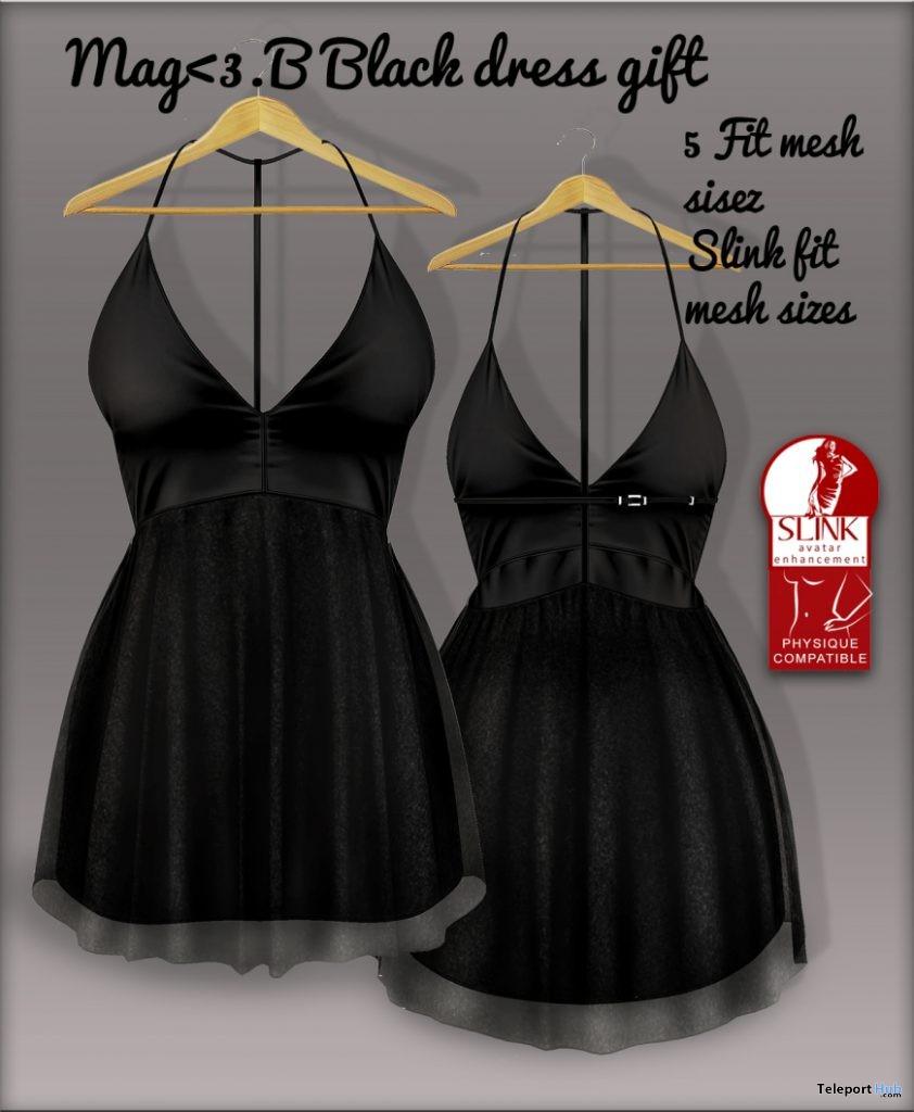 Black Dress 5L Promo by Mag<3.B - Teleport Hub - teleporthub.com