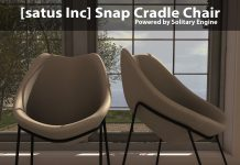 New Release: Snap Cradle Chair by [satus Inc] - Teleport Hub - teleporthub.com