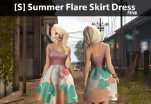 New Release: [S] Summer Flare Skirt Dress by [satus Inc] - Teleport Hub - teleporthub.com