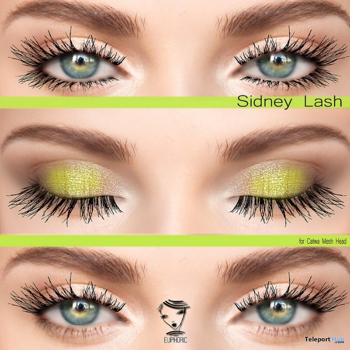 Sidney Lashes For Catwa Head Group Gift by euphoric - Teleport Hub - teleporthub.com