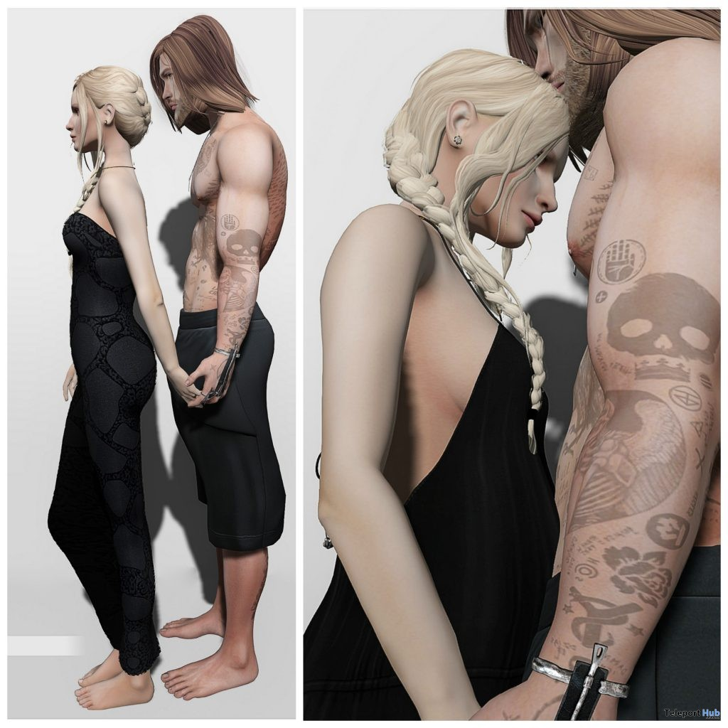 New Release: Follow Me and Us Couple Poses by RK Poses @ Shiny Shabby August 2016 - Teleport Hub - teleporthub.com