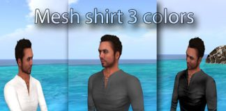 Men Henley Top 3 Colors 2000 Members Group Gift by AmAzInG CrEaTiOnS - Teleport Hub - teleporthub.com
