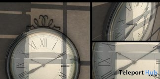 Old Clock September 2016 Group Gift by Ariskea - Teleport Hub - teleporthub.com