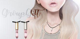 Rose Quartz Chokers Gold & Silver Group Gift by imbue - Teleport Hub - teleporthub.com