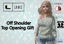 Off Shoulder Top 1L Promo Gift by Link.e - Teleport Hub - teleporthub.com