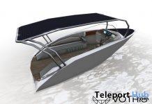 Solar Skiff Boat by VOTRIS - Teleport Hub - teleporthub.com