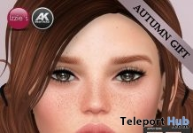 Bree Autumn Version Akeruka Mesh Head Applier Gift by Izzie's - Teleport Hub - teleporthub.com