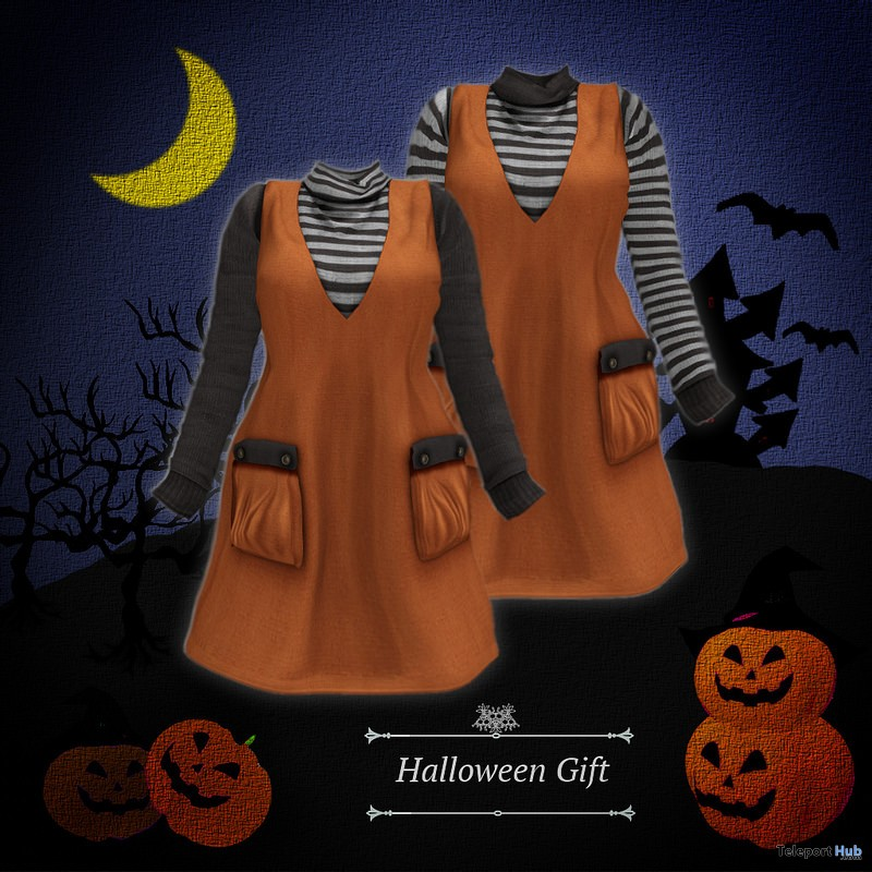 Jumper Skirt & Top Halloween 2016 Group Gift by S@BBiA - Teleport Hub - teleporthub.com