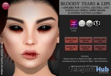 Bloody Tears & Lips Halloween Limited Time Gift by Izzie's - Teleport Hub - teleporthub.com