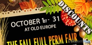 The Fall Full Perm Fair at Old Europe (2016) - Teleport Hub - teleporthub.com