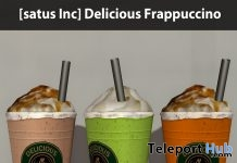 New Release: Delicious Frappuccino by [satus Inc] - Teleport Hub - teleporthub.com
