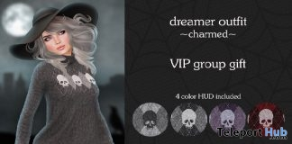Dreamer Outfit Charmed Halloween 2016 Group Gift by Neve - Teleport Hub - teleporthub.com